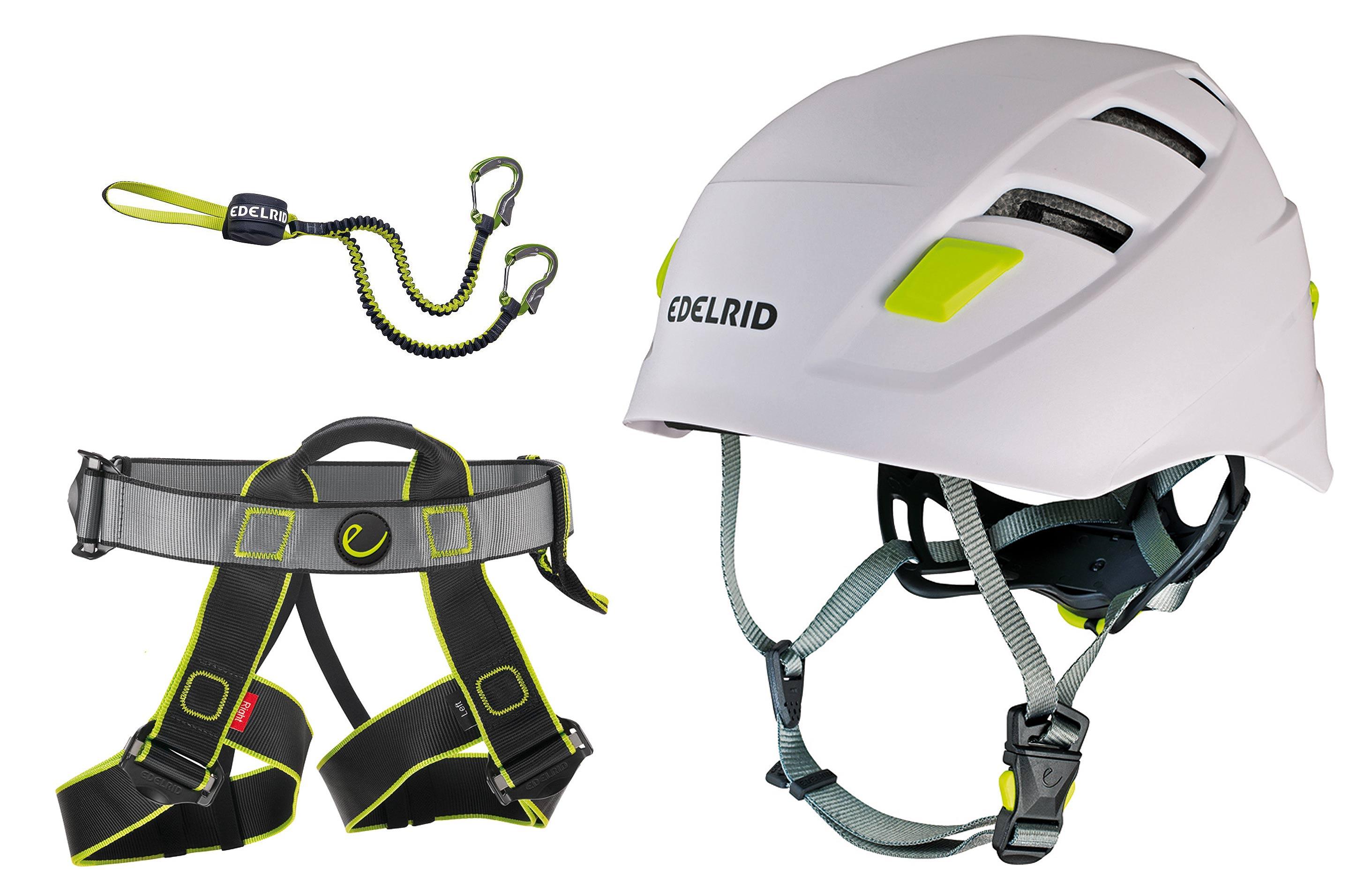 Klettersteigset Welches : Klettersteigset edelrid cable compact gurt joker helm zodiac ebay