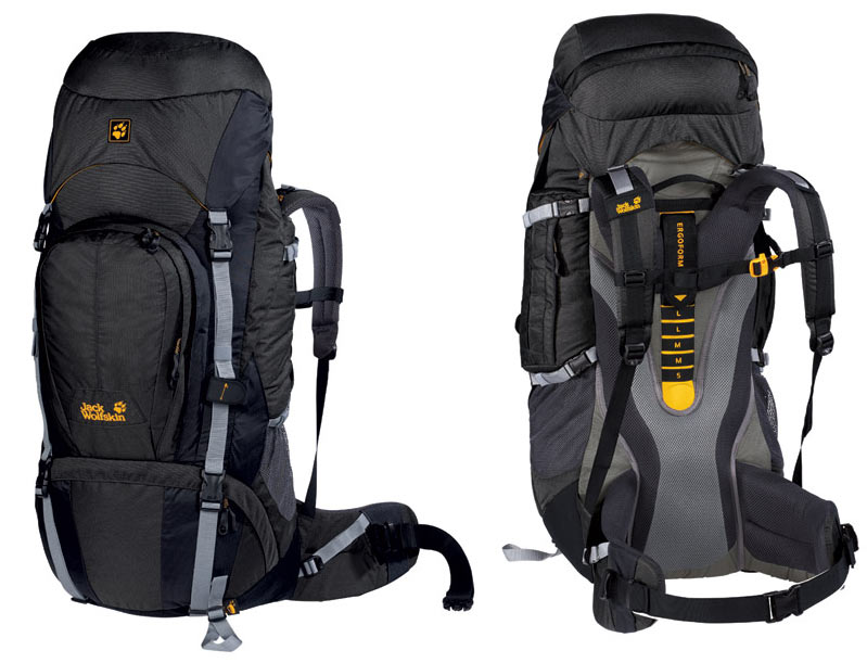 jack wolfskin rucksack 60l bestseller shop f r. Black Bedroom Furniture Sets. Home Design Ideas